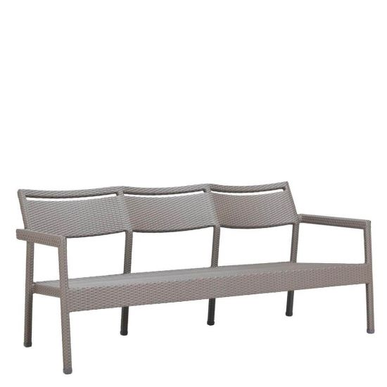 Tailored Sofa 3 Seat Palladium Twill