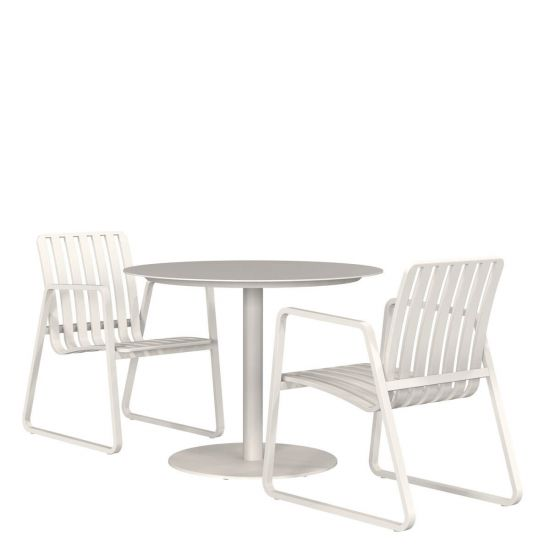 Promenade 3 Piece Dining Set Round