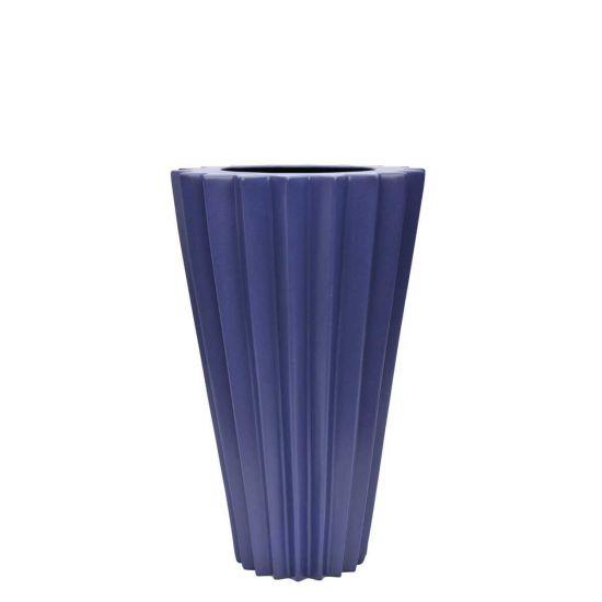 Arris Vase Grande Cobalt Vases Vessels Janus Et Cie