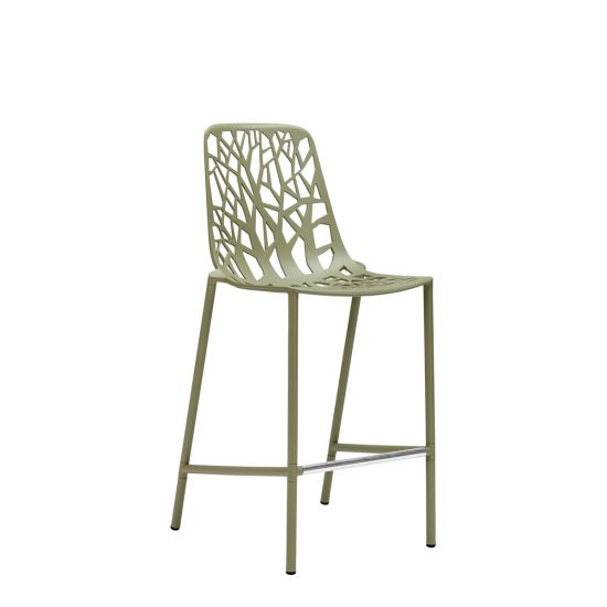 Swell Forest High Back Counter Stool Sage Green Camellatalisay Diy Chair Ideas Camellatalisaycom