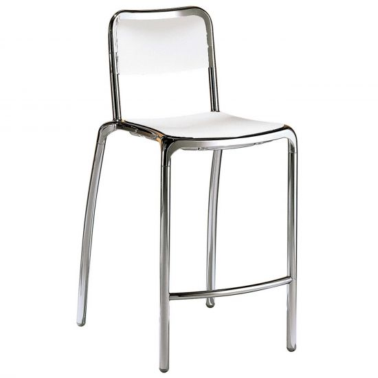 Swell Asti Counter Stool Silver Alphanode Cool Chair Designs And Ideas Alphanodeonline