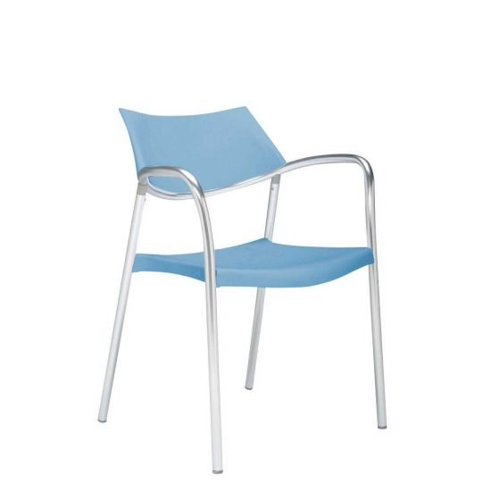 Superieur Splash Armchair   Light Blue