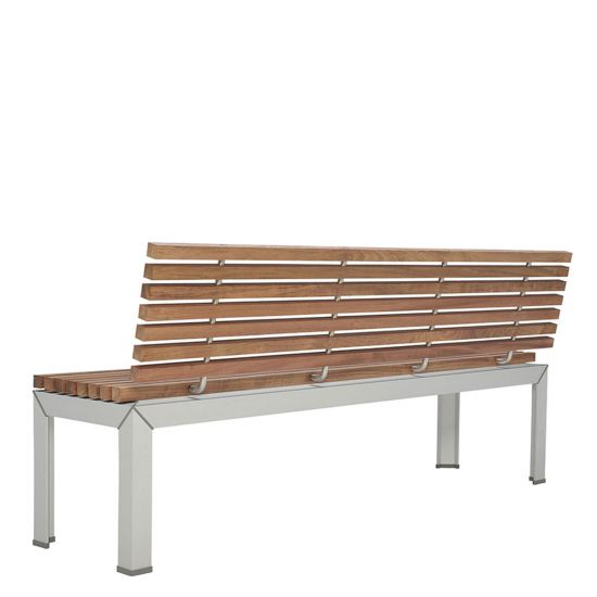 Amazing Ex Tempore Bench With Back 180 Ibusinesslaw Wood Chair Design Ideas Ibusinesslaworg