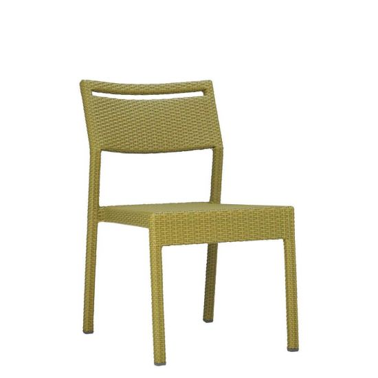 Niche Side Chair   Bamboo Green
