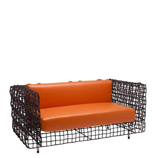 Yin & Yang Sofa 2 Seat Interior - Wenge | Sofas | JANUS et Cie