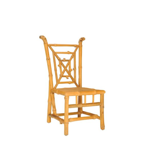 Bamboo Side Chair   Natural