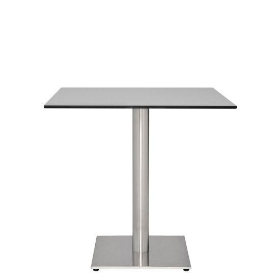 Jcafe Gra Dining Table Square Grey