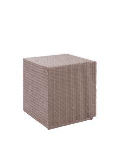 Cube Table/Ottoman - Nacre