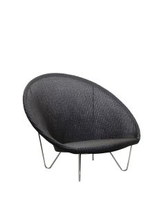Joe Lounge Chair - Black