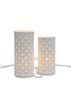 Lucent Solomon Lamp - White