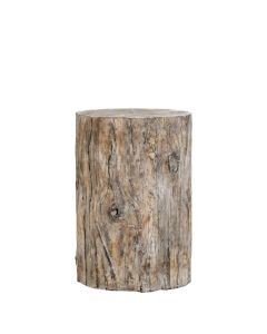 Grotto Ebony Side Table Grande
