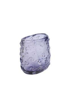 Nomura Ripple Vase Narrow - Amethyst