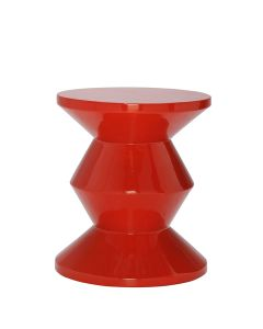 Totum Side Table/Stool - Persimmon