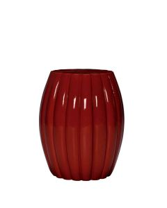 Chrysanthemum Side Table - Ruby