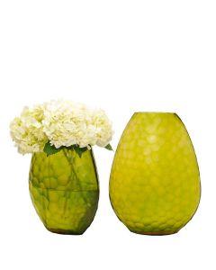 Artisan Honeycomb Vase