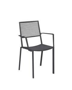 Easy Armchair - Metallic Grey