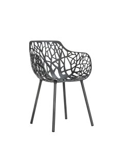 Forest Armchair - Metallic Grey