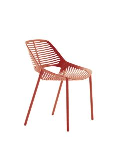 NIWA SIDE CHAIR - CORAL RED
