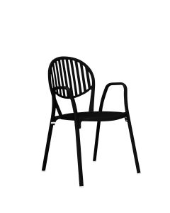 OLYMPIA ARMCHAIR - BLACK