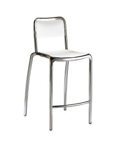 ASTI COUNTER STOOL - SILVER