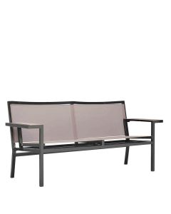 LASZLO SOFA 2 SEAT - ESPRESSO/LATTE