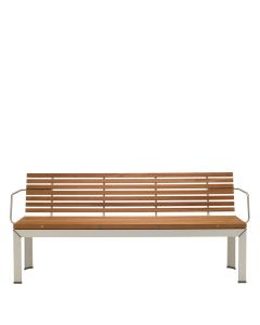 EXTEMPORE BENCH WITH ARMS 235