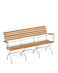 CLASSIC BENCH 3 SEAT WITH ARMS