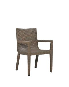 Quinta Woven Armchair - Khaki