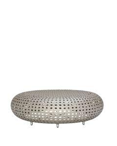 Capsule Bench/Cocktail Table - Palladium