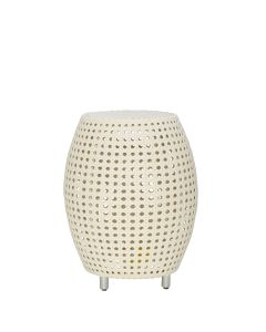 Capsule Side Table - Limestone