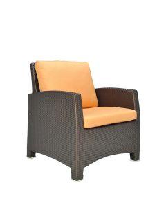 Ascona Lounge Chair - Bronze