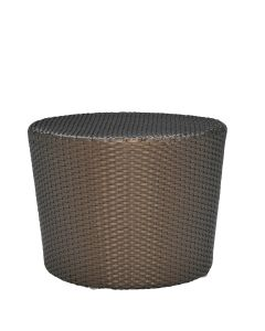Shell Side Table Round - Bronze