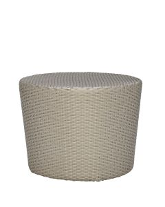 Shell Side Table Round - Palladium