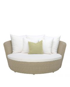 Shell Daybed - Carrara White