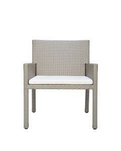 Milan Lounge Chair - Palladium