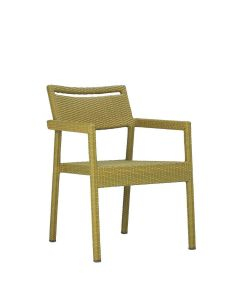 Niche Armchair - Bamboo Green