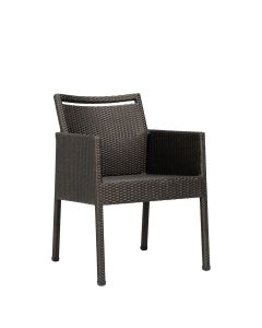 Niche Fully Woven Armchair - Bronze