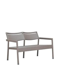 Niche Sofa 2 Seat - Palladium Twill