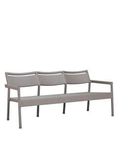 Niche Sofa 3 Seat - Palladium Twill