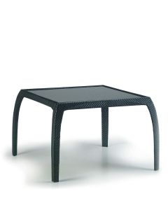 Phoenix Dining Table Square - Carbon