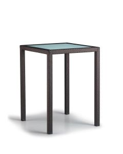 Spa Bar Table Square 125 - Bronze