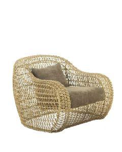 Balou Lounge Armchair Interior - Natural