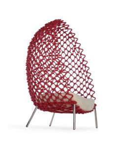Dragnet Lounge Chair - Red
