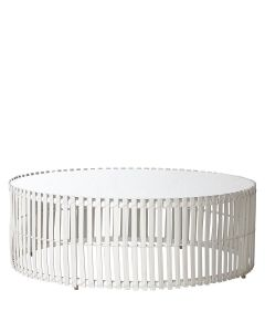 Lolah Straight Cocktail Table Round - Bleach