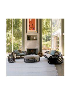 Lolah Ottoman Oval Interior - Wenge