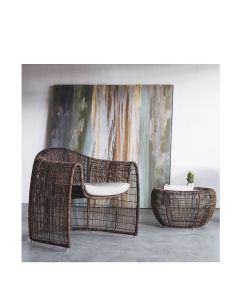 Lulu Armchair Interior - Natural