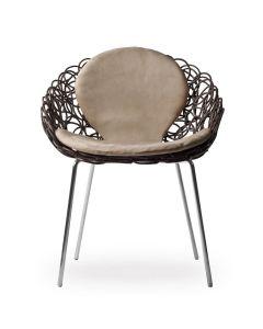 Noodle Armchair - Bronze
