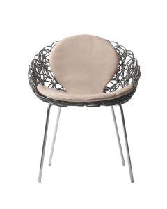 Noodle Armchair - Light Grey