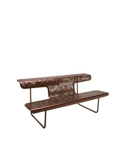 The Poet Bench - Bronze