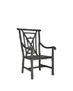 Bamboo Armchair - Black